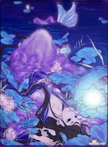 Ánh mặt trời ngày xuân vẫn ấm áp lẳng lặng chiếu lên hai người một lớn một nhỏ đang đứng sững nơi đó. Chỉ có chiếc xích đu kia vẫn đang đung đưa không ngừng, dẫn dụ một cánh bướm bay tới bên cạnh nó, đua tranh hương thơm cỏ hoa.